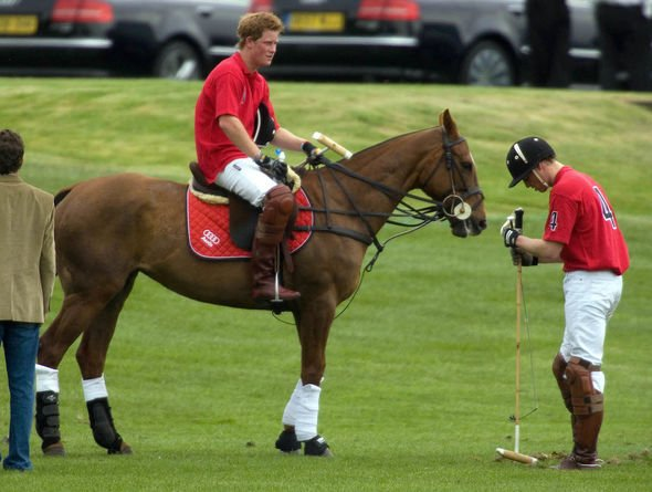 Prince Harry The royal is known to be a keen polo player