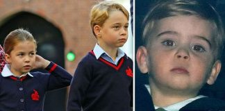 Prince Louis heartbreak