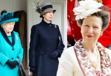 Princess Anne: Body language Queen