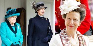 Princess Anne: Body language Queen