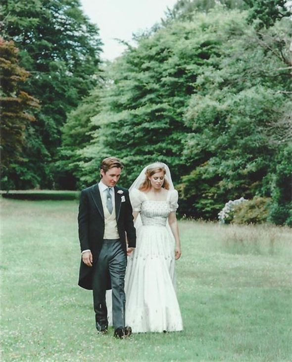 Princess Beatrice royal wedding Edoardo Mapelli Mozzi