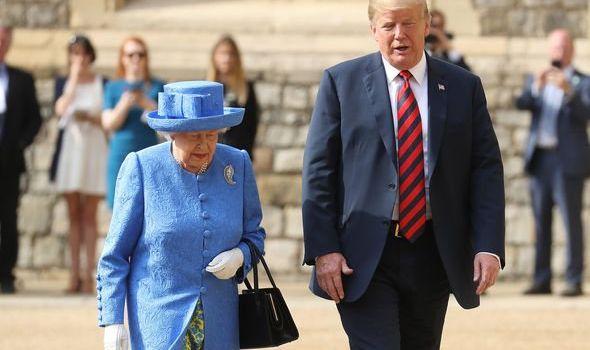 Queen news congratulate Joe Biden US election 2020 evg