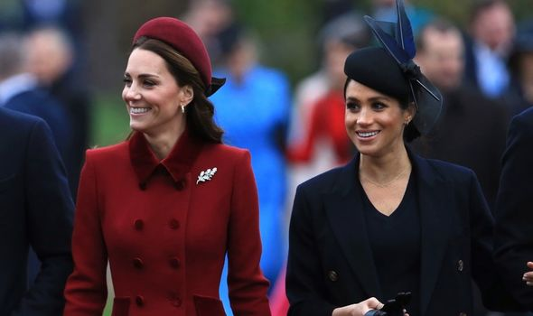 Royal Family: Kate Middleton and Meghan Markle on Christmas Day, 2018
