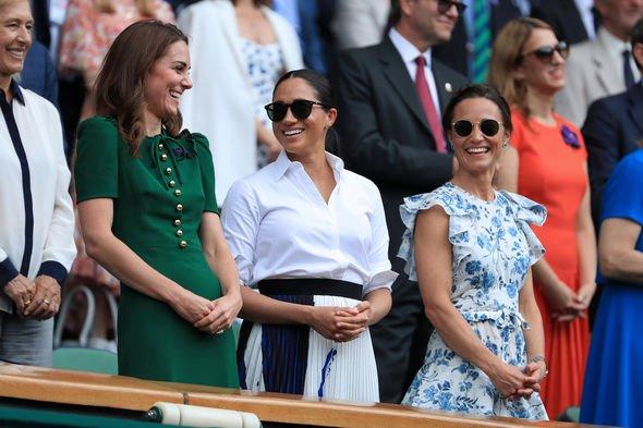 Royal Family: Pippa, Meghan Markle and Kate Middleton at Wimbledon