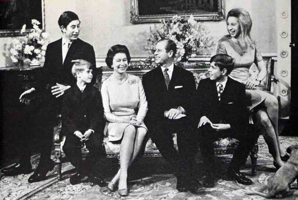 Royal Family: The family pictured together