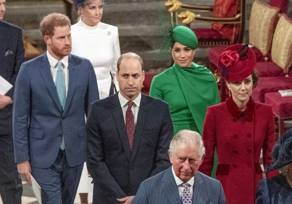 Royal feud: Harry and William are known to have fallen out in recent years