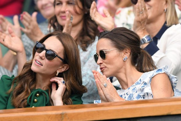 Royal siblings: Kate and Pippa are known to share a good sisterly relationship