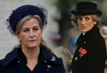 Sophie Countess of Wessex and Princess Diana