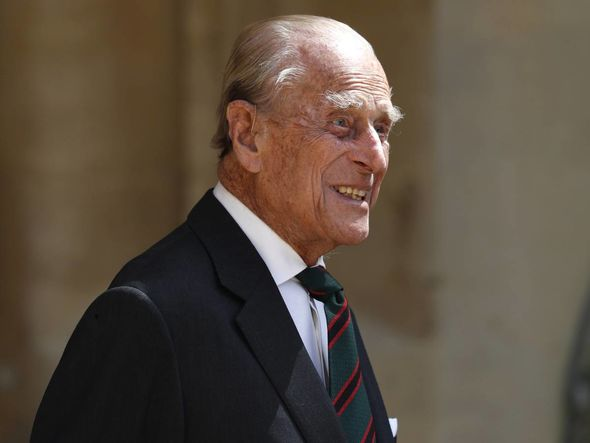 The Duke of Edinburgh often visits the club on his helicopter