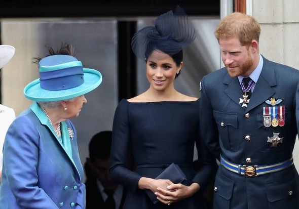 meghan markle prince harry titles hrh queen elizabeth ii royal family news