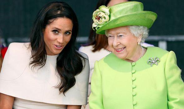 meghan markle queen elizabeth ii