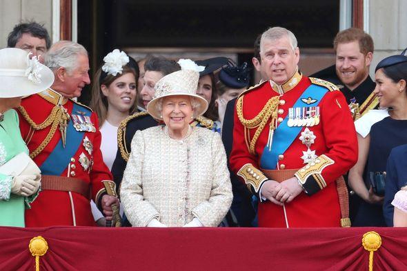 prince andrew news Queen Elizabeth II