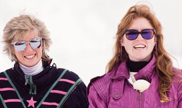 Prince Charles avalanche: Princess Diana and Sarah Ferguson