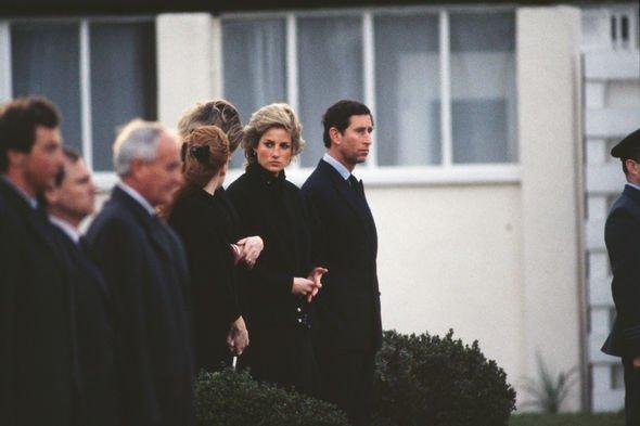 Prince Charles avalanche: Prince Charles, Princess Diana and Sarah Ferguson
