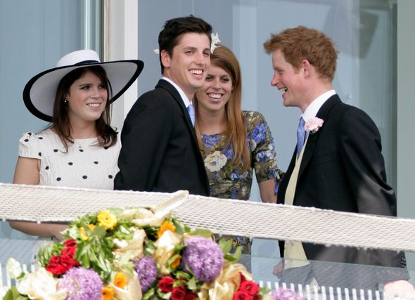 Prince Harry news: Harry, Eugenie and Beatrice
