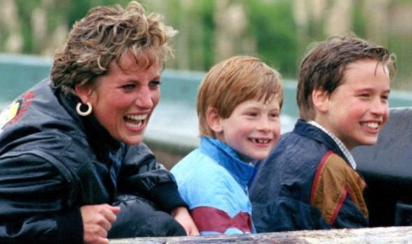 prince william prince harry princess diana