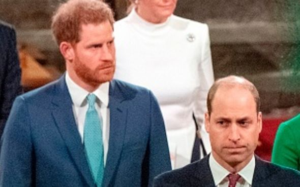 prince william prince harry royal feud