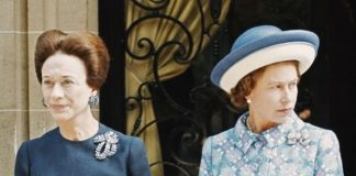 Wallis Simpson and Queen Elizabeth II in 1972
