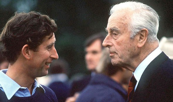 Mountbatten feared Charles was acting like his