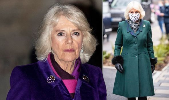 Camilla Parker Bowles on Monday and recently