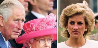 Princess Diana, Prince Charles and Queen Elizabeth II