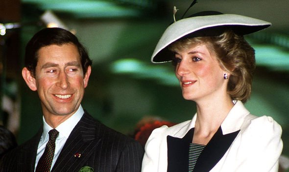 Diana and Charles during a brief happy moment in their marriage