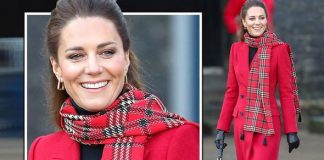 Kate Middleton recycles McQueen coat and £2,000 handbag for final day of Royal Train tour