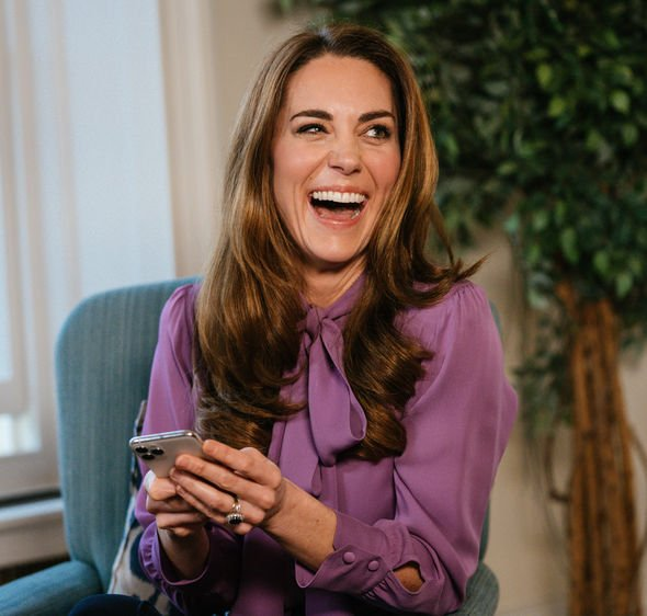 Kate Middleton smiling