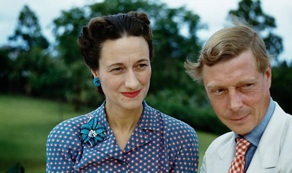 Wallis Simpson and the Duke of Windsor -- he abdicated so they could marry in 1936