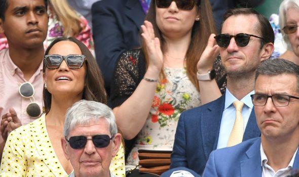Pippa Middleton is a regular at Wimbledon
