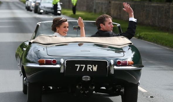 Pippa Middleton was her sister Kate's Maid of Honour