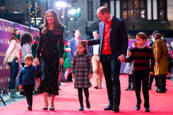 Prince George, Charlotte & Louis