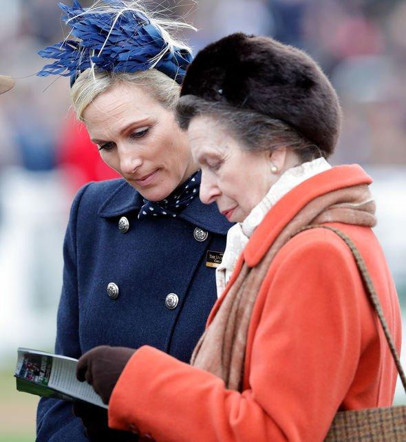Princess Anne and Zara