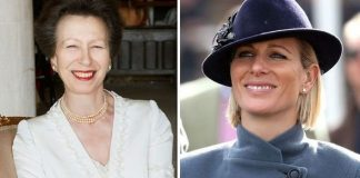 Princess Anne and Zara Tindall