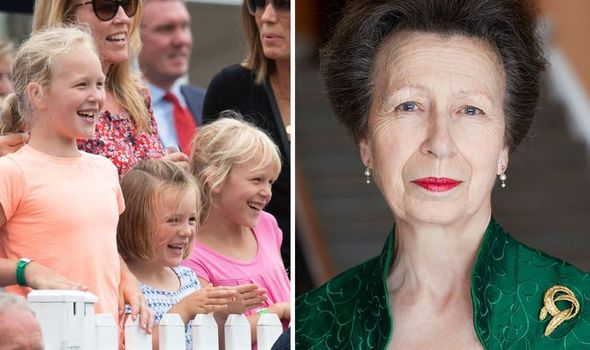 Princess Anne family tree