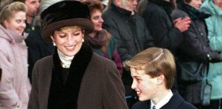 Princess Diana Prince William Christmas