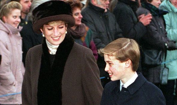 Princess Diana Prince William Christmas