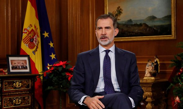 Royal Family news: King Felipe VI for his Christmas Eve speech in 2019