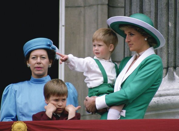 Royal relationship: Margaret is said to have been one of the first members to welcome Diana