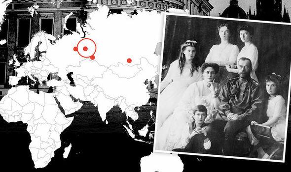 Russian Romanov lost treasure