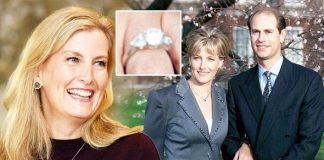 Sophie, Countess of Wessex: Prince Edward ring