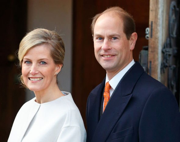 Sophie, Countess of Wessex, and Prince Edward