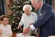 The Queen and Prince George's festive mince pies will be given to volunteers