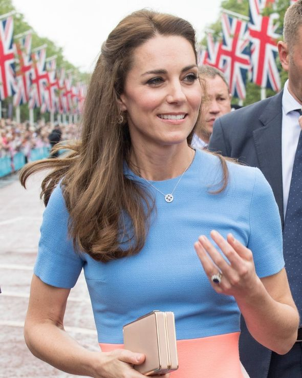 """""""The earrings and pendant have made regular appearances as part of Kate's outfits,"""
