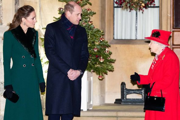 The royals were in good spirits as they baked the festive treats