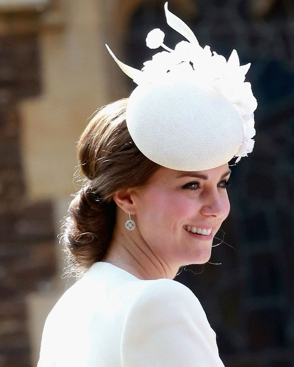 These luxury earrings were first seen at Princess Charlotte's christening