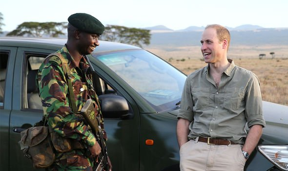 William has worked with the Tusk Trust project in Kenya to protect elephants
