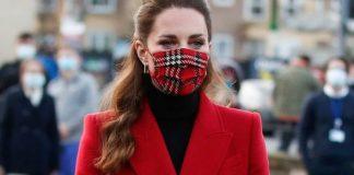 kate middleton duchess cambridge face mask fashion