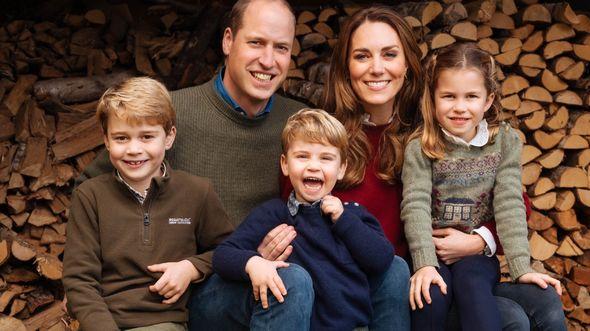 prince louis news cambridge christmas card prince george