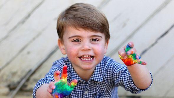 prince louis news royal family latest cambridge